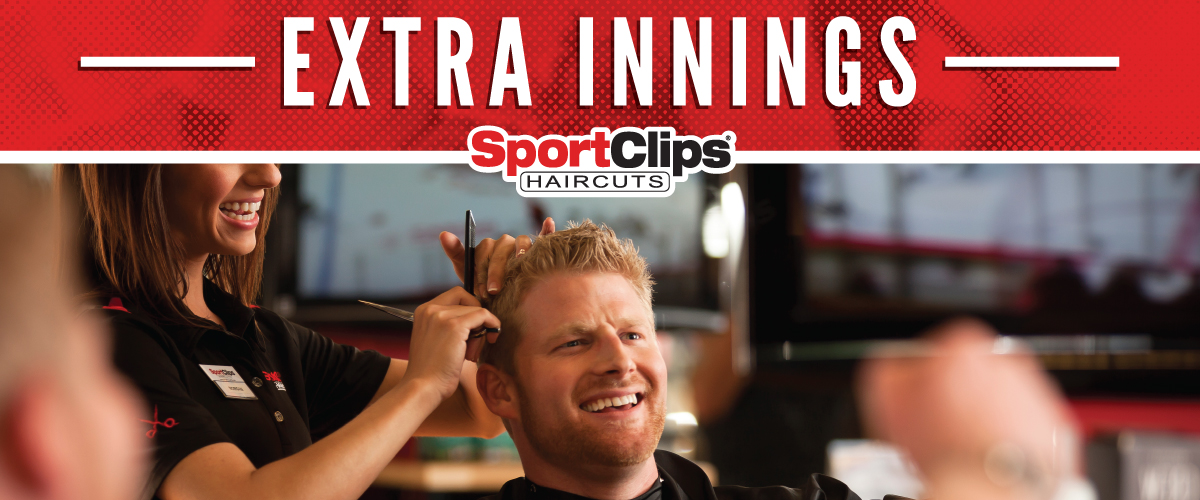 The Sport Clips Haircuts of Bannockburn Extra Innings Offerings